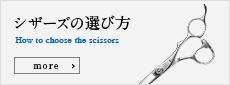 シザーズの選び方